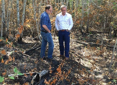 Premier, ministers head farther north for post-fire meetings