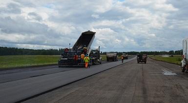 Repaving at Buffalo Narrows airport complete