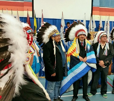 Landslide victory for Athabasca Vice-Chief Tsannie