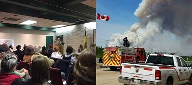 La Ronge forum looks back on wildfire response