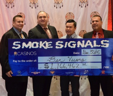 SIGA Announces Another Smoke Signals Winner