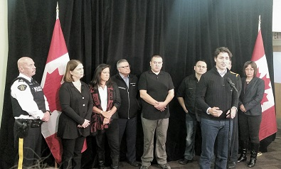 UPDATED – Trudeau arrives in La Loche