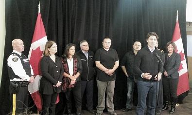UPDATED – Trudeau arrives in La Loche