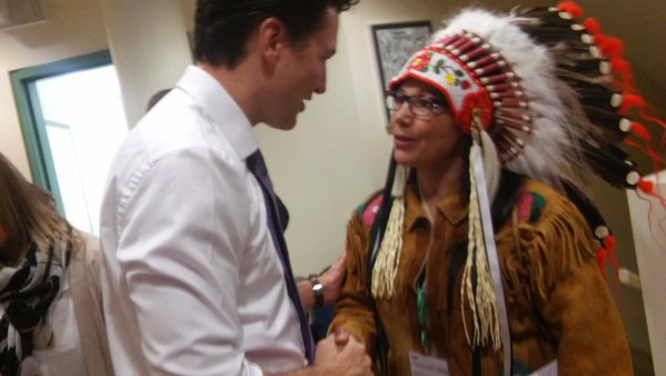 Prime Minister makes historic stop at Oskayak High School