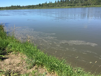 Water agency official says it could be months before oil-contaminated river can be used for drinking water