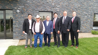New water and sewage system announced for Whitecap Dakota First Nation