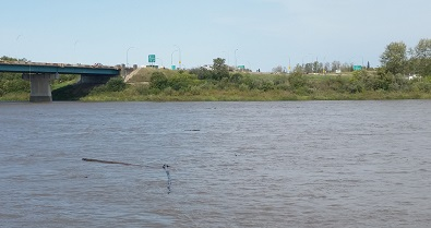 River water levels rise 1.5 metres in 12 hours in Prince Albert