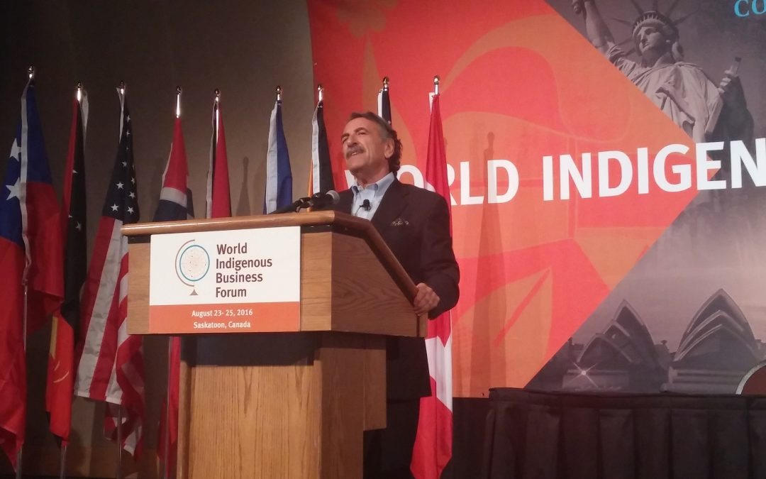"""Development can only ever be Indigenous"" WIBF wraps with rousing speech from international development leader"