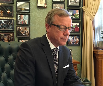"In year-end interview, Premier explains his view of ""nation to nation"" relationship with First Nations"