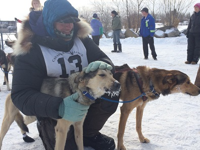 Aaron Peck wins 12-dog Canadian Challenge Race