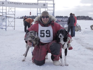 Marcel Marin wins eight-dog Canadian Challenge Race