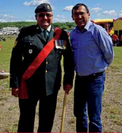 English River First Nation veteran to be honoured after 21 years in Armed Forces