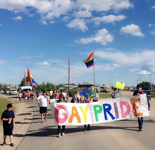 La Loche's first-ever pride festivities marked by recent loss of community member
