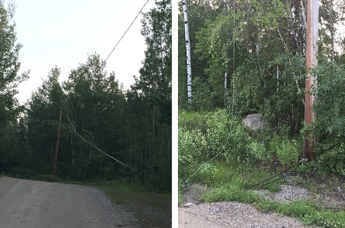SaskPower still recovering from severe thunderstorms in the province's north