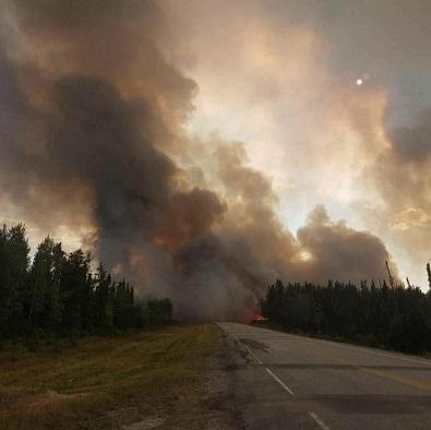 Roads close due to fires in northeastern Saskatchewan