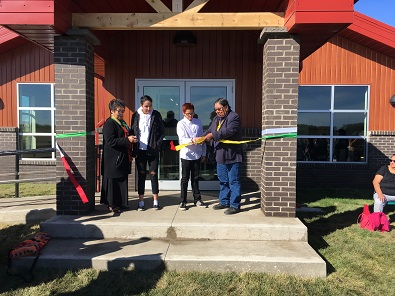 Youth centre opens on Pasqua First Nation