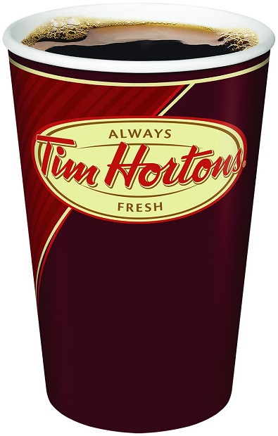 Creighton residents brave long lines for Tim Hortons coffee