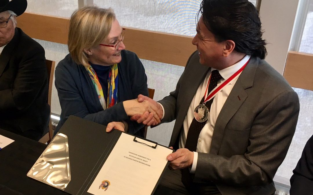 Crown-Indigenous relations minister meeting with First Nation and Metis leaders in Saskatoon