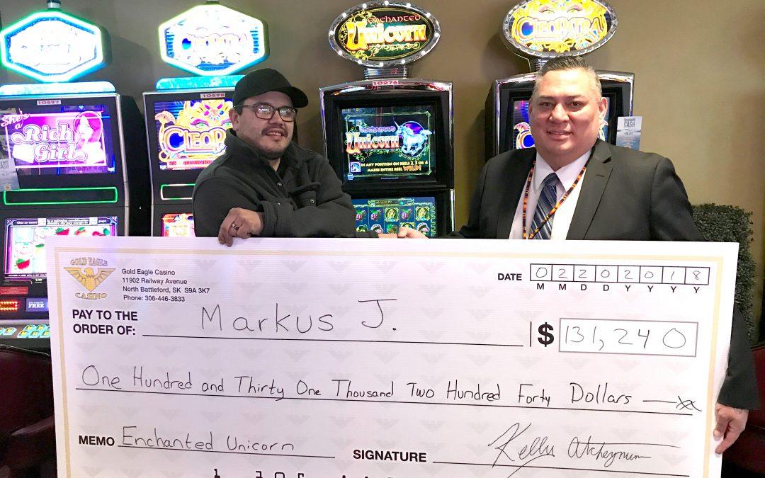 La Loche man wins big at casino