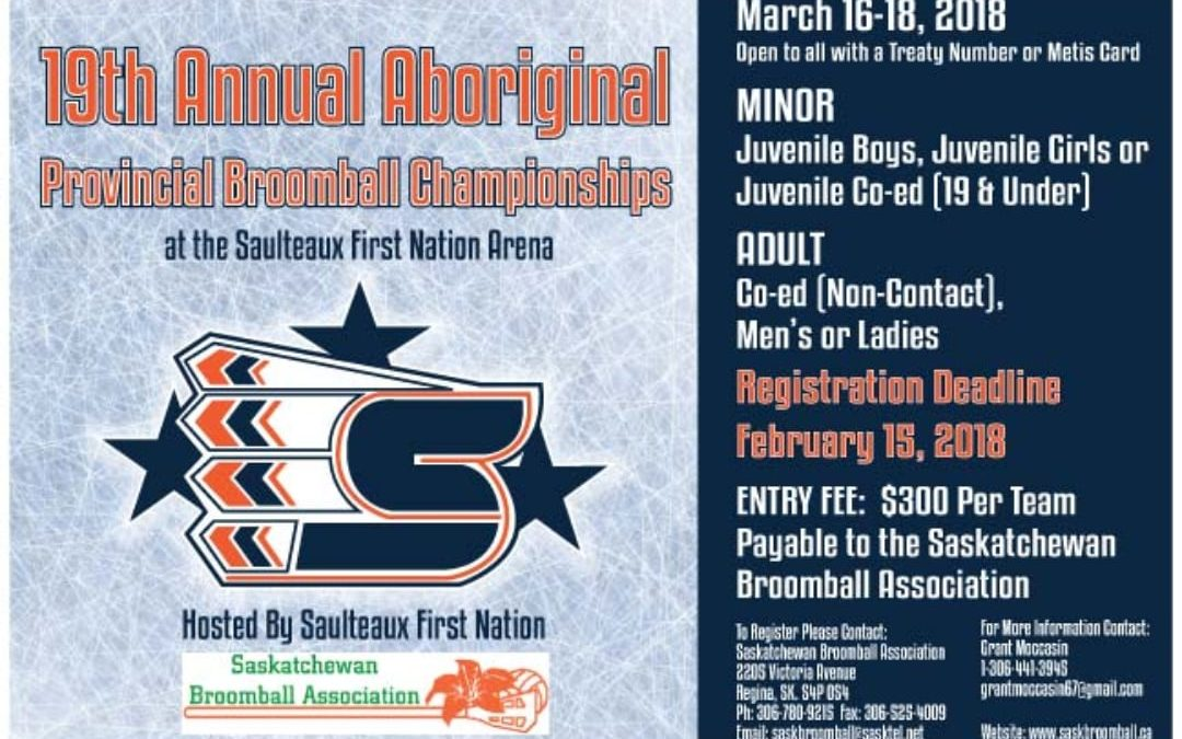 Aboriginal Provincial Broomball Championships cancelled