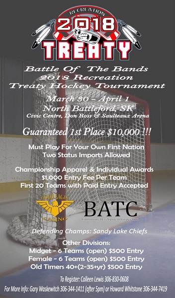 Battle of Bands hockey tournament comes to North Battleford