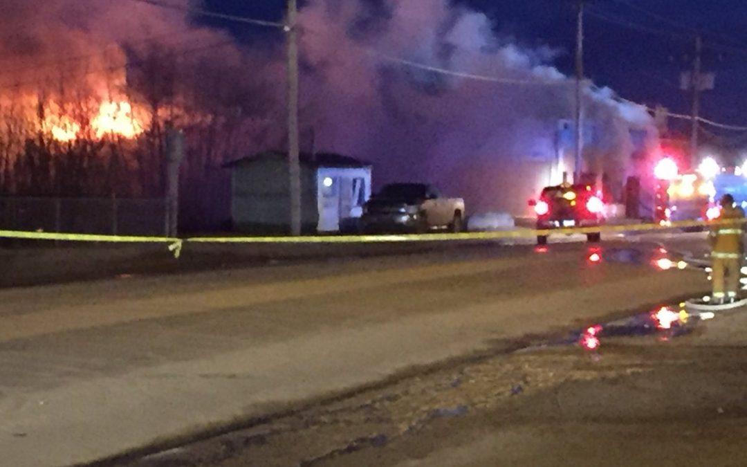 Fire burns Northern Store in La Loche