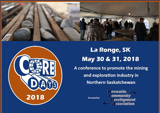 Opportunities in mining exploration on display during Core Days
