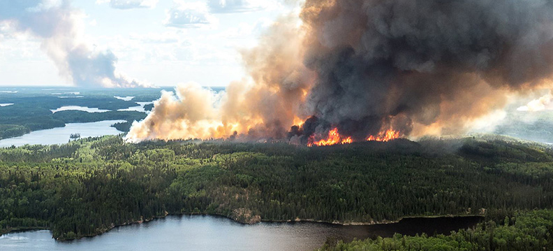 Wildfires force the evacuations of two First Nations