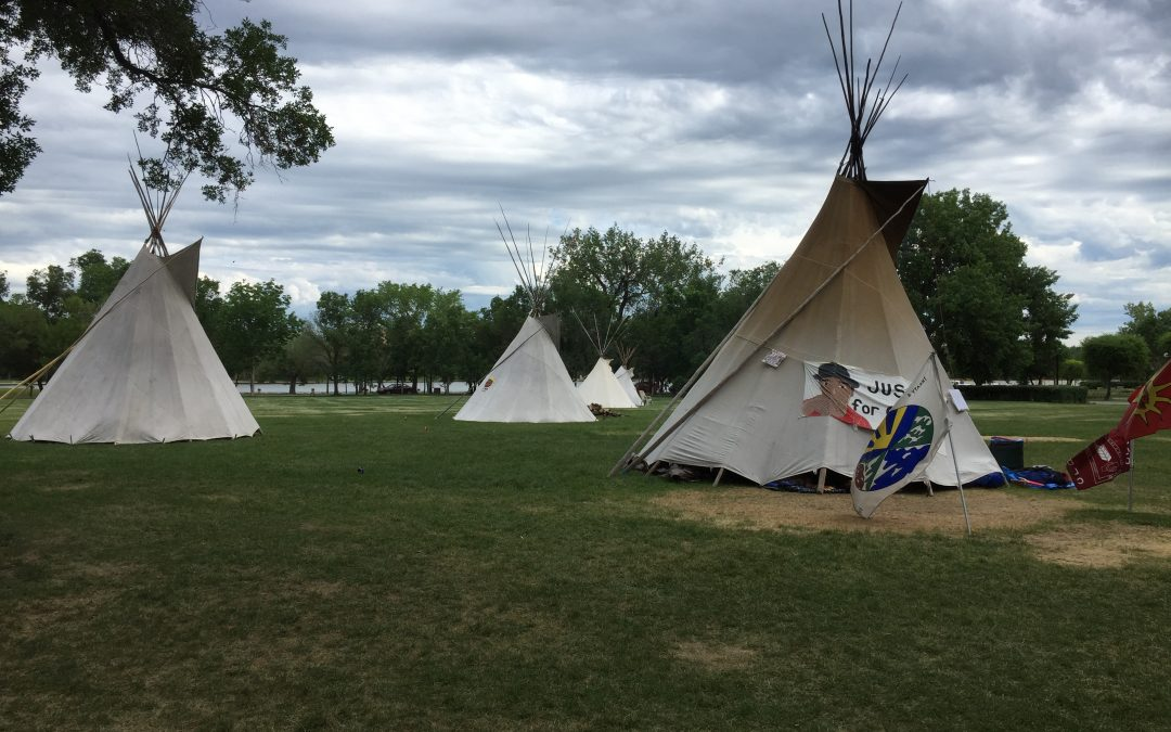 Moe calls Justice for Our Stolen Children camp illegal, wants it dismantled following meeting