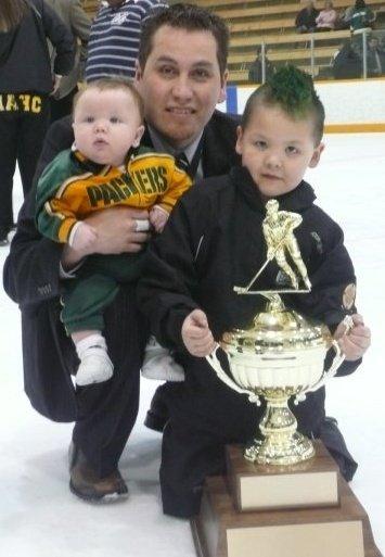 Courage Bear instills life lessons coaching hockey