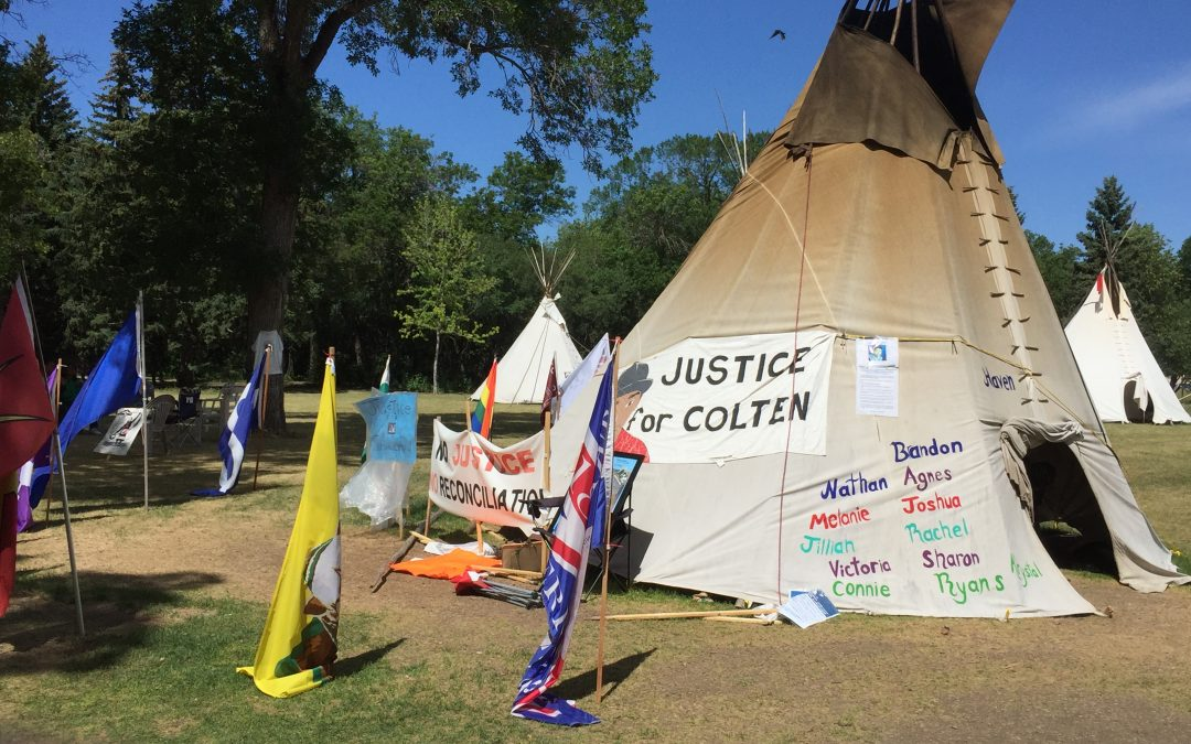 Court reserves decision in Justice for Our Stolen Children protest camp appeal