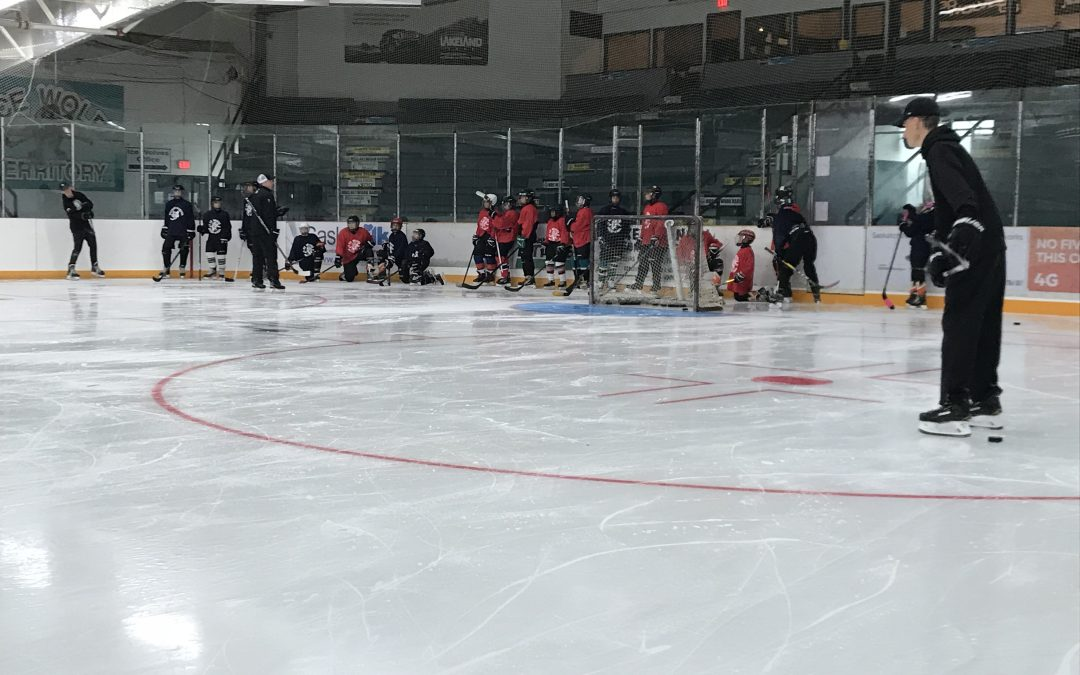 Ice Wolves host hockey camp