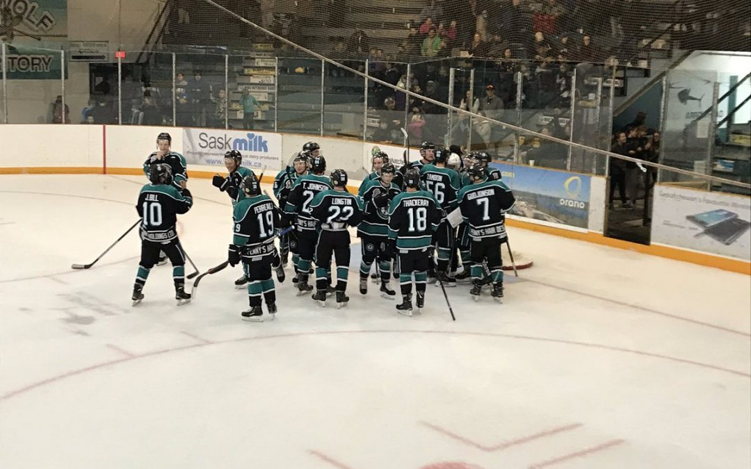 Ice Wolves get first win against Melville