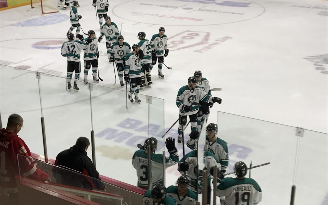 Ice Wolves fry Wings and win third straight