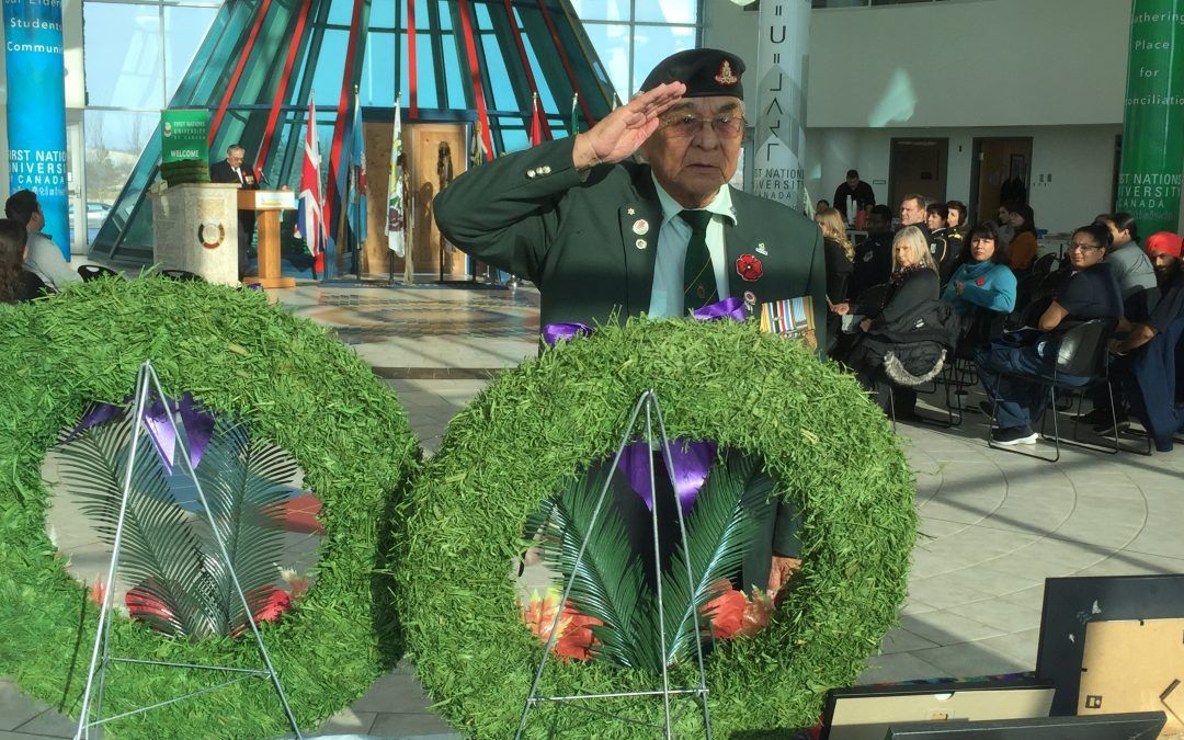 Sask. Indigenous veterans remembered