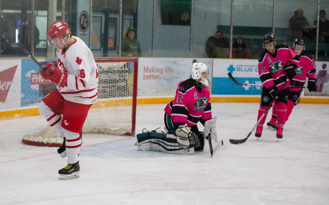 Hounds edge Wolves