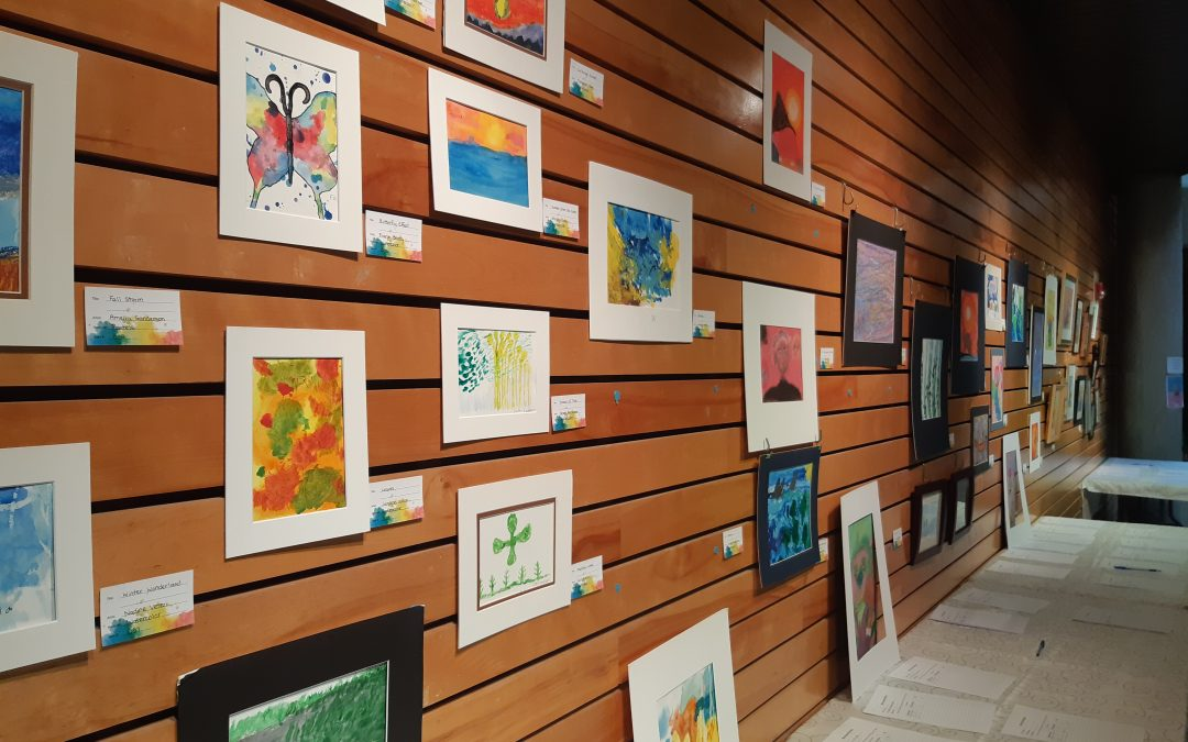 La Ronge Elder's channel their inner artists via painting