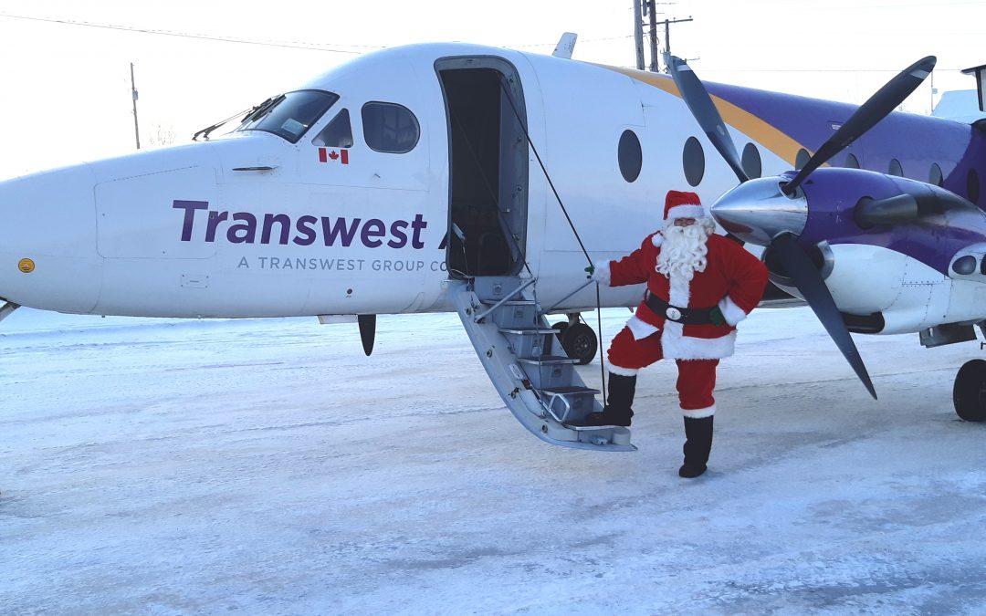 Santa came early to Saskatchewan's North