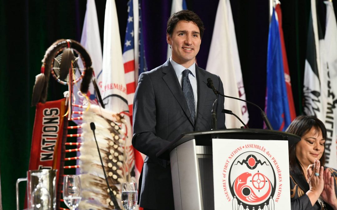 Trudeau addresses Chiefs Assembly