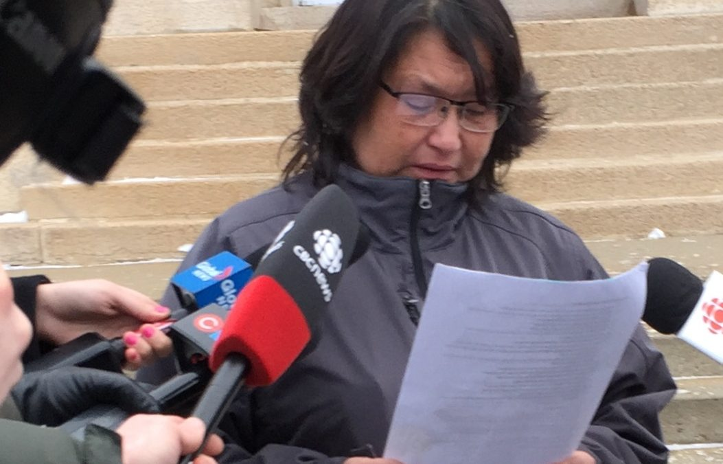 Whitstone's mother says RCMP has destroyed family's life
