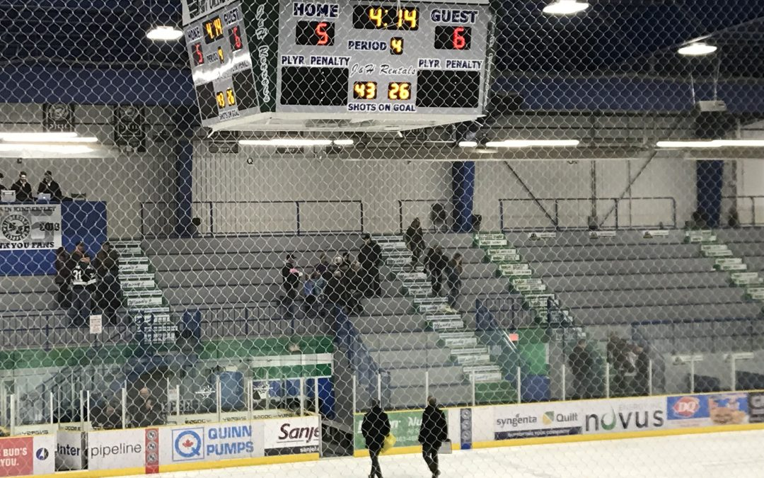 Ice Wolves edge Klippers in extra time