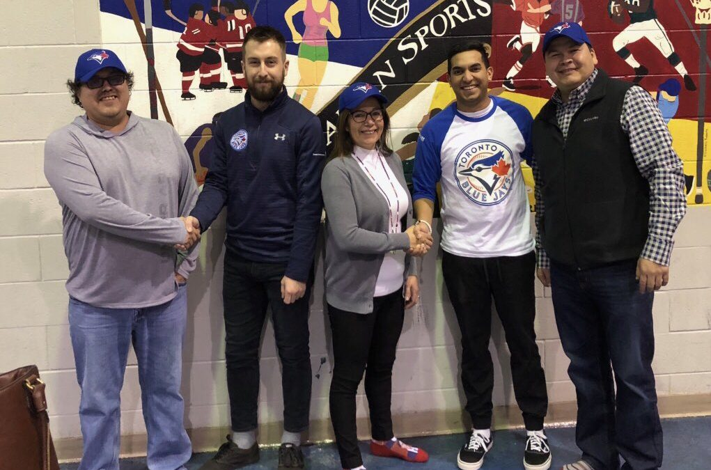 Lac La Ronge Indian Band and Blue Jays Care team up to offer local youth baseball filled summer