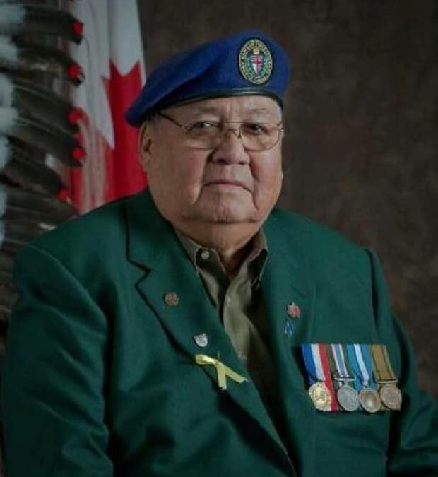 Hundreds pay tribute to life of First Nations veterans' advocate
