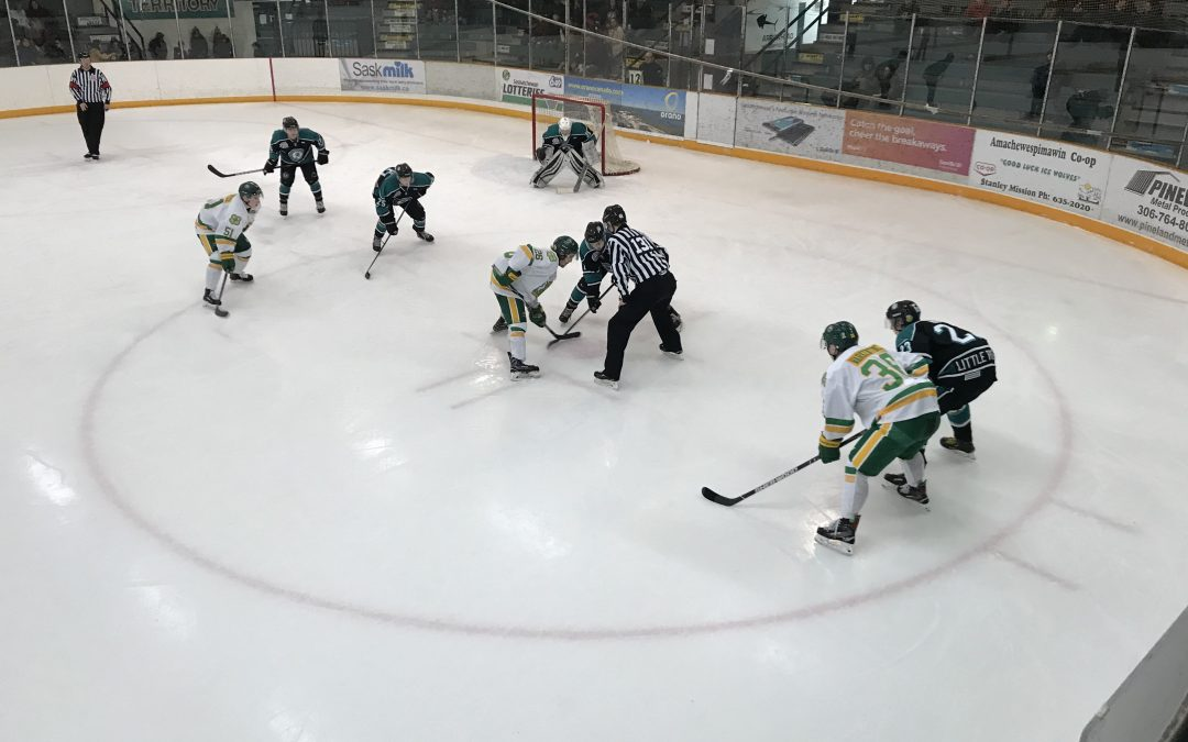 Ice Wolves swept by Humboldt in weekend series