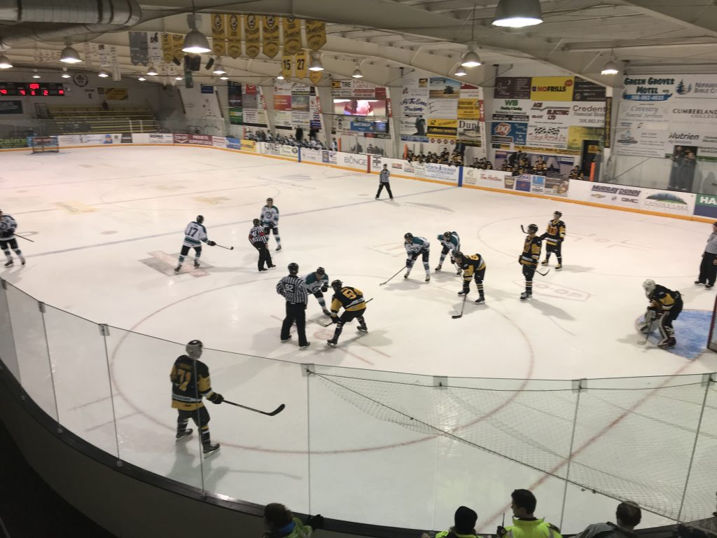 Ice Wolves clipped by Hawks