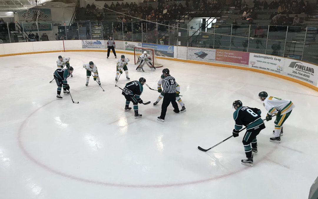 Ice Wolves drop close battle with Humboldt