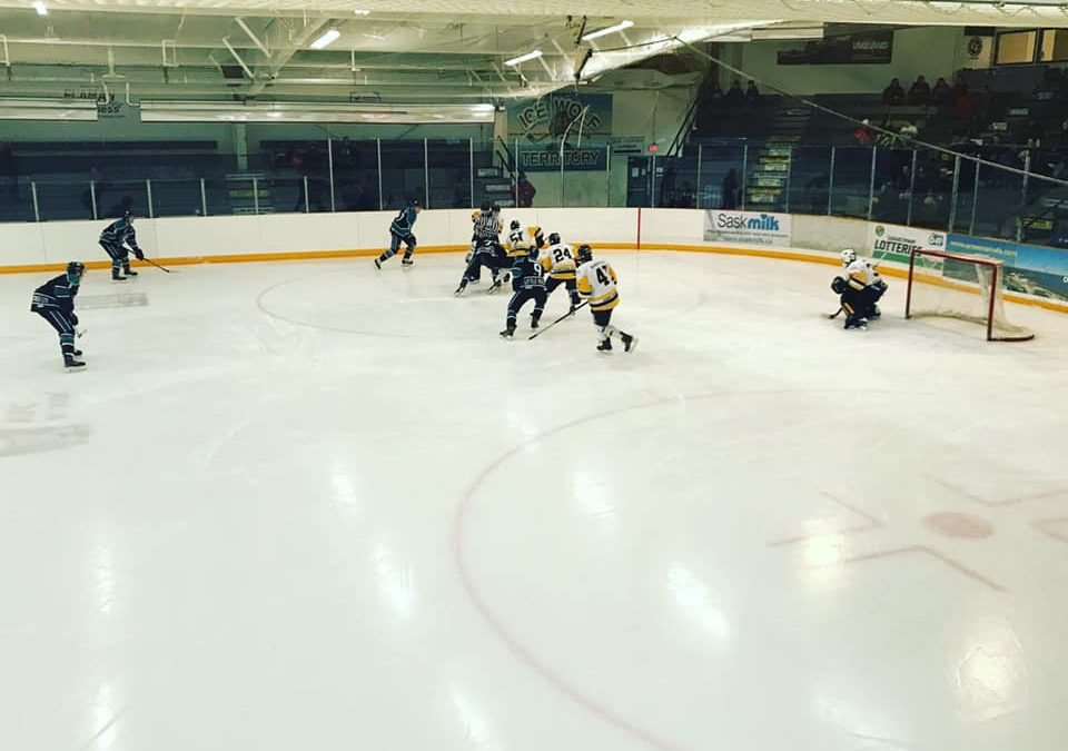 Ice Wolves come up short versus Hawks