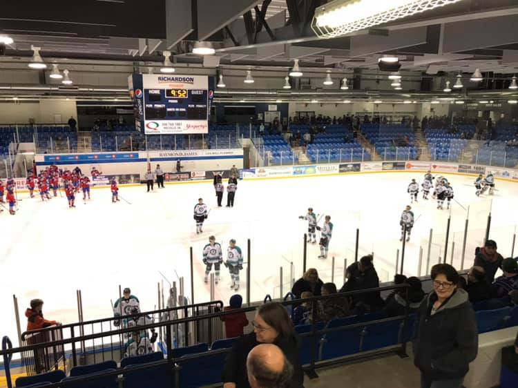 New-look Ice Wolves win emotional game in Melville