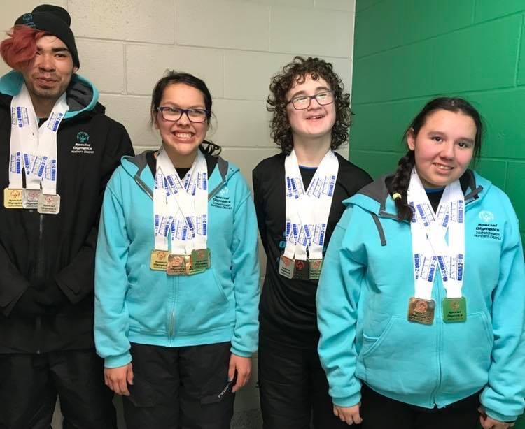 Big medal haul for northern athletes