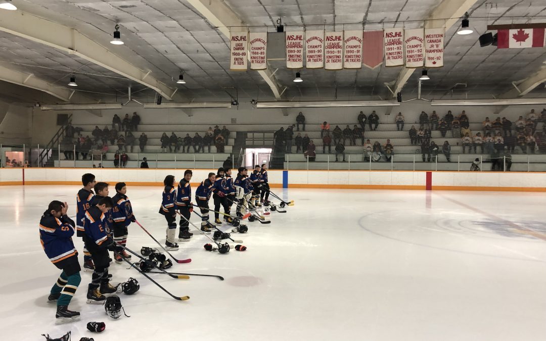 Stanley Mission hockey team competes in provincials